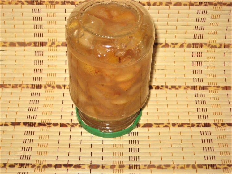 фото к рецепту варенья из груш с лимонным соком