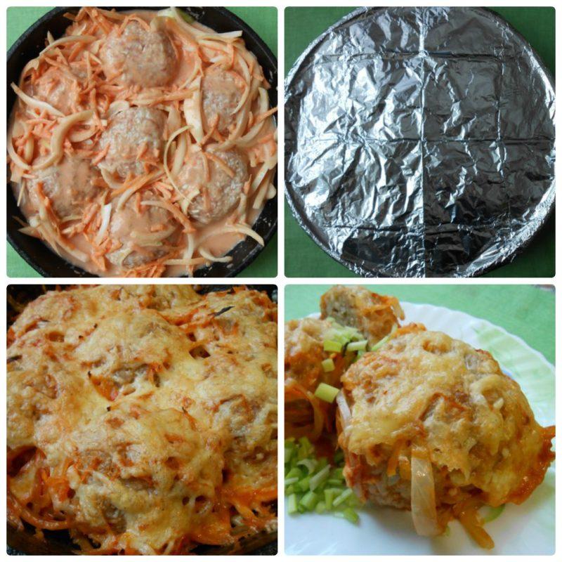 Как готовить ежики пошаговые фото