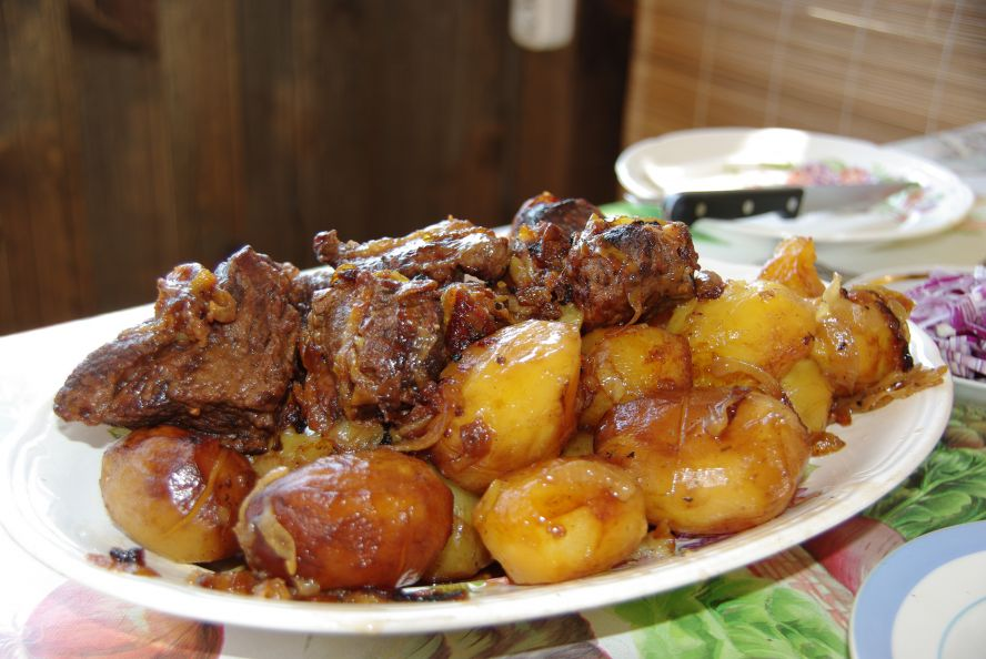 как приготовить баранину вкусно и быстро в духовке с картошкой