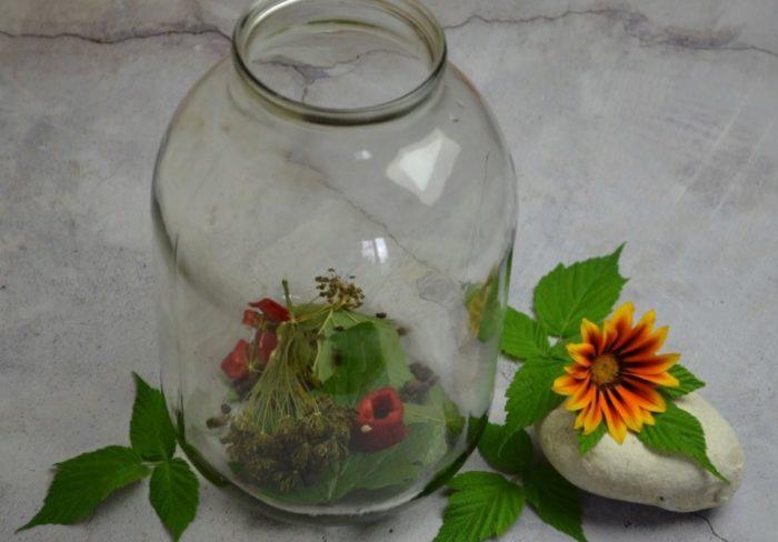 пряности для маринования арбуза в банке фото