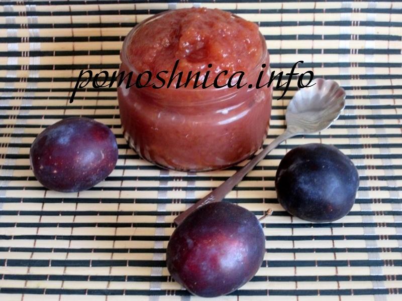 Повидло яблочно-сливовое рецепт с фото