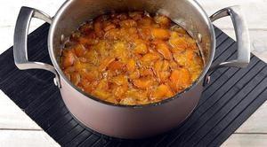 Приготовление варенья из персиков и апельсинов фото