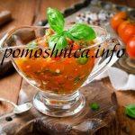Самый лучший шашлычный соус из помидор: рецепт пошаговый