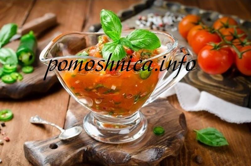 Шашлычный соус из помидоров фото