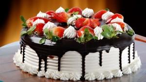 Шоколадная глазурь для торта фото