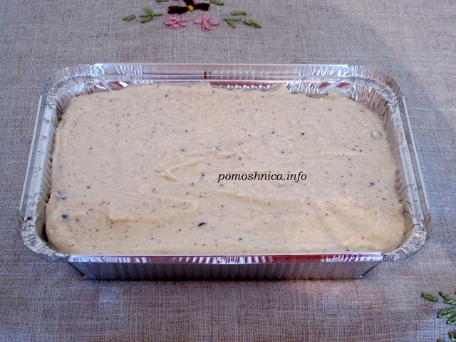 Творожный слой начинка торфяного пирога