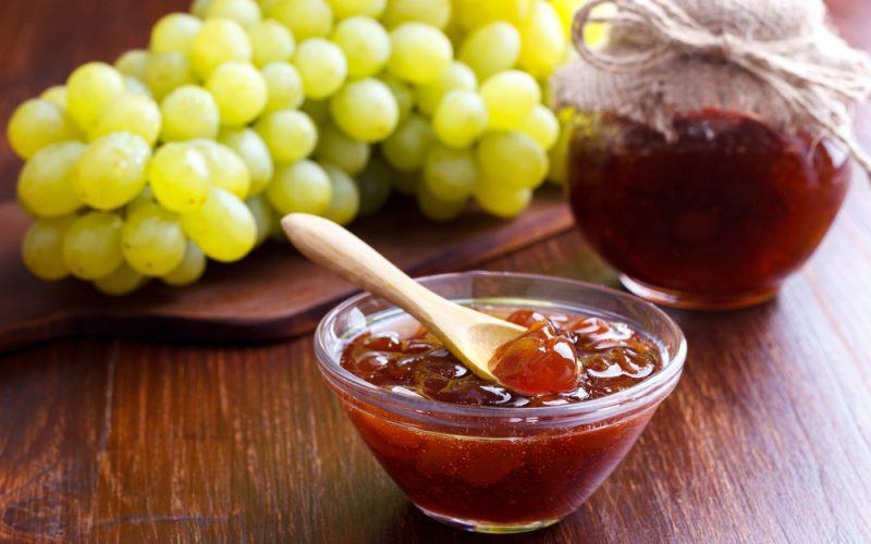 Варенье из винограда с лимоном на зиму фото