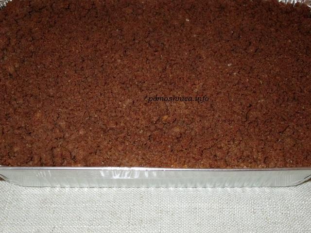 Верхний слой торфяного пирога