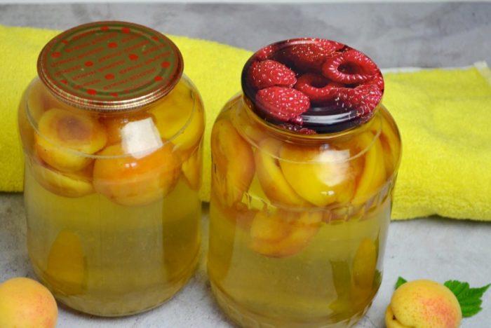 Заливка фруктов сиропом в банках фото