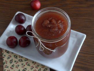 фото к рецепту джема из яблок с кабачками и алычой