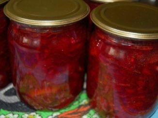 фото к рецепту борщевой заправки с помидорами, перцем и свеклой