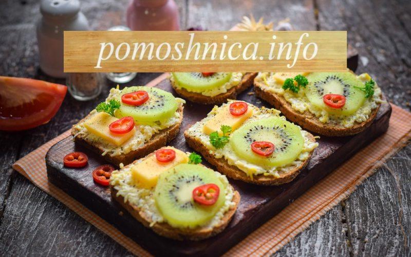бутерброды на новый год 2018 рецепты с фото