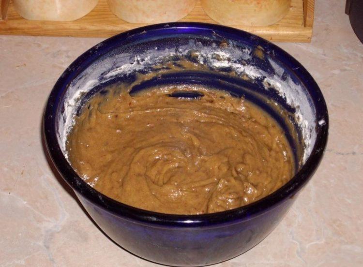 фото теста из фиников для торта