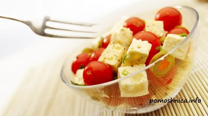 как готовить греческий салат рецепт с фото