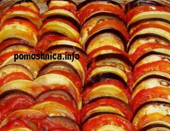 Рататуй: рецепт классический в духовке
