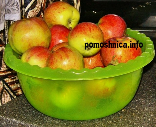 как приготовить варенье из зимних яблоко