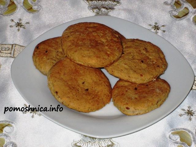 как испечь овсяное печенье пошаговый рецепт