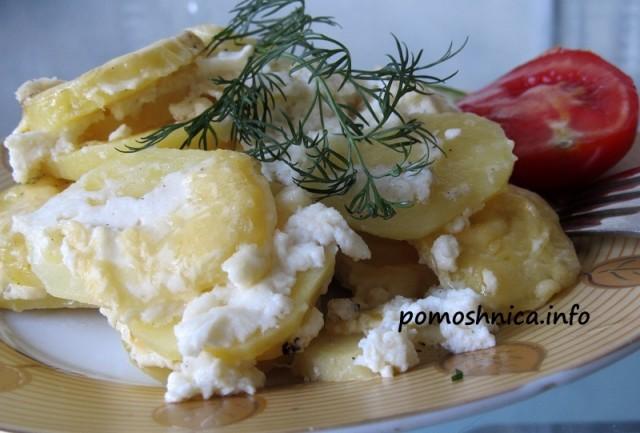 рецепт картофельной запеканки в пароварке