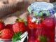 фото к рецепту клубничного варенья с мятой