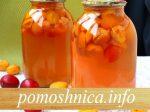 Компот из абрикосов и слив на зиму: рецепт с фото