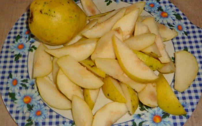 фото груш для приготовления компота с лимоном на зиму