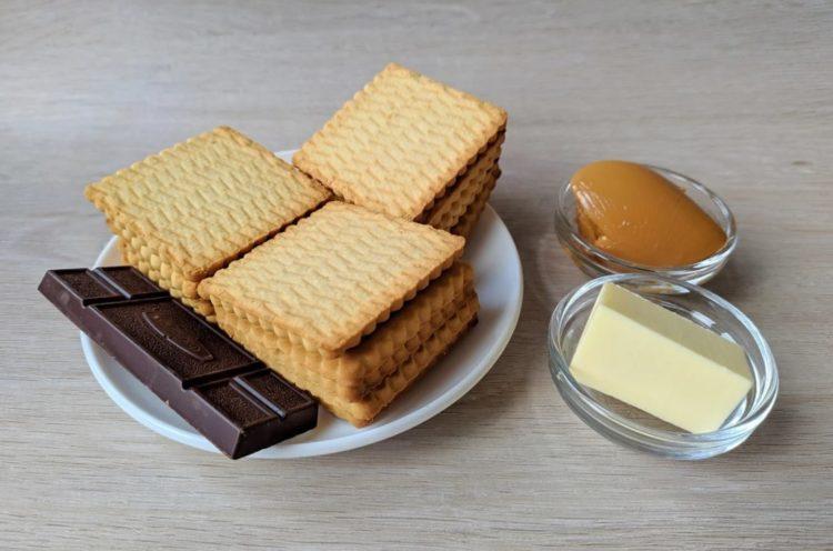 фото ингредиентов для Муравейника без выпечки