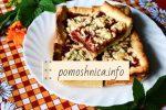 Пирог с малиновым вареньем: рецепт с фото пошагово