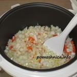 фото к рецепту плов с курицей готовим мясо с овощами на программе жарка