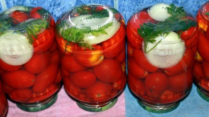 фото к рецепту помидоров на зиму без стерилизации