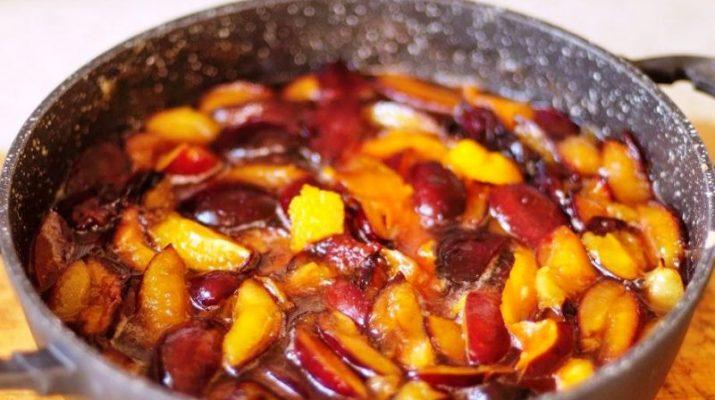 Как приготовить сливовое варенье в духовке фото рецепт