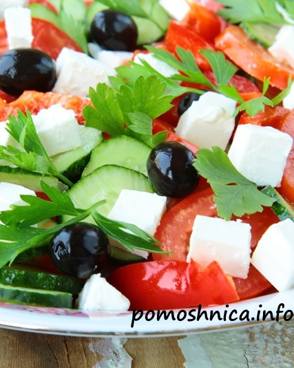 как правильно готовить греческий салат
