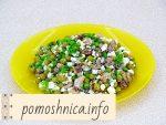 Салат из сардины с зеленым горошком: рецепт с фото пошагово