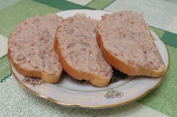 фото бутербродов с селедочным маслом