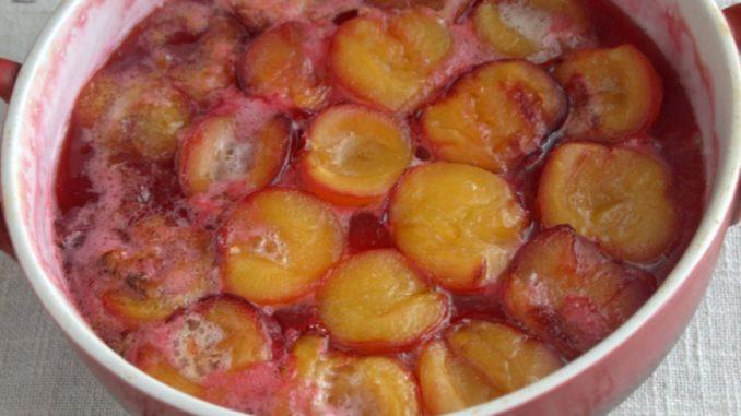 фото к рецепту заготовки слив на зиму