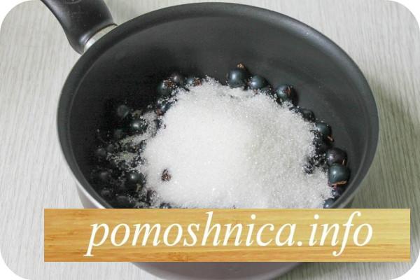 смородина с сахаром для приготовления джема фото