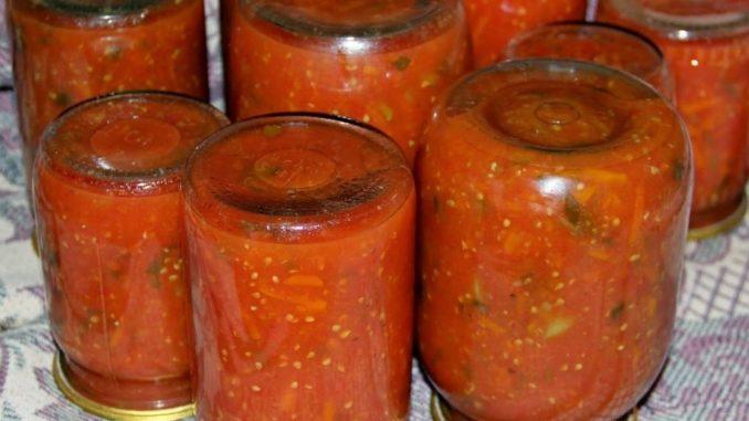 фото к рецепту аджикииз помидоров с яблоками