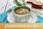 суп с рыбными фрикадельками готов
