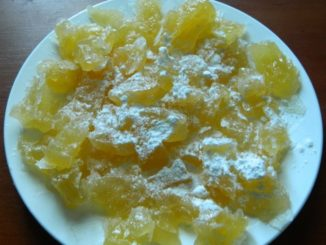 фото к рецепту цукатов из дыни