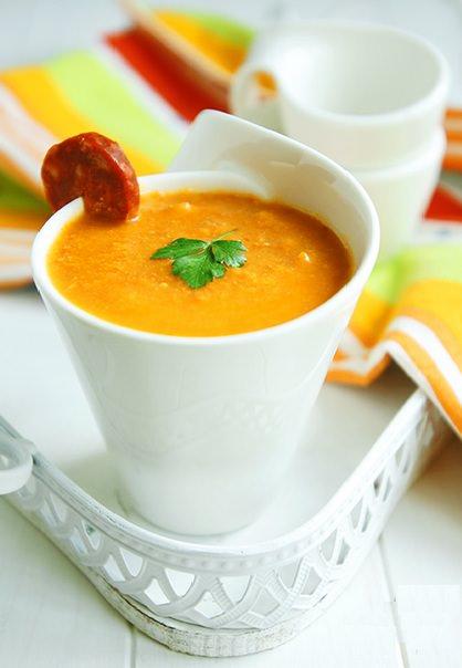 Тыквенный суп пюре со сливками фото