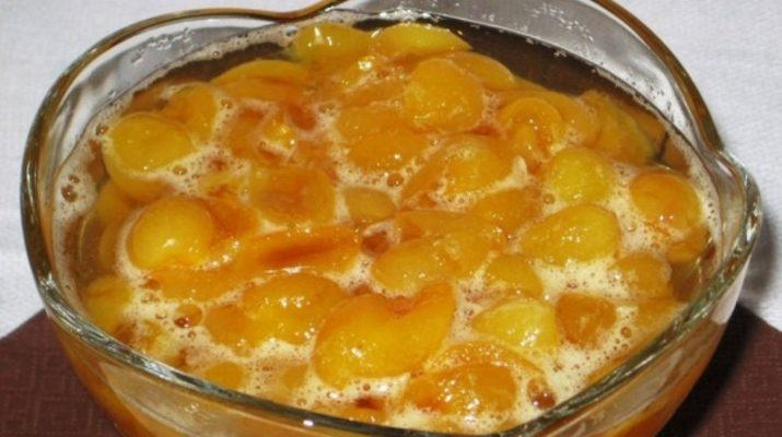 Варенье из желтой черешни рецепт с фото