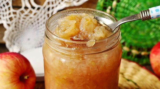 фото к рецепту варенья из тертых яблок