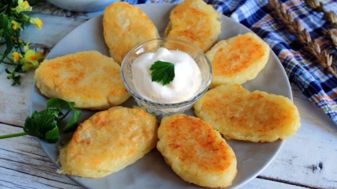 фото к рецепту картофельных зраз